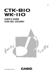Casio WK-110 Manuals