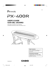 Casio Privia PX-400R Manuals