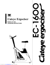 Cateye ERGOCISER EC-1600 Manuals