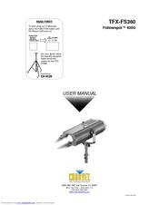 Chauvet Followspot 400G Manuals