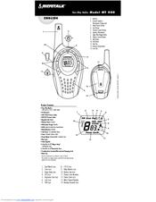 Cobra microTALK MT 800 Manuals