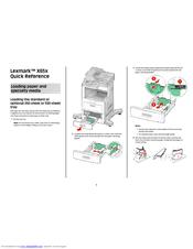 Lexmark X654DE Manuals