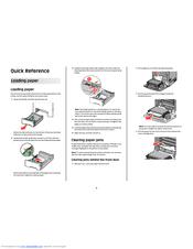 Lexmark C736dn Manuals