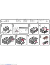 Lexmark E120n Manuals