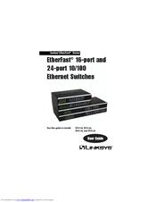 Linksys EtherFast EF4116 Manuals