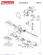 Makita 4341FCT Manuals