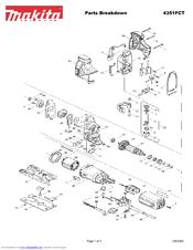 Makita 4351FCT Manuals