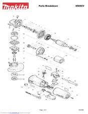 Makita 9565CV Manuals