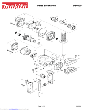 Makita DS4000 Manuals