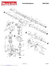 Makita HM1100C Manuals
