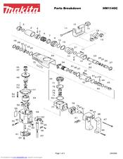 Makita HM1140C Manuals