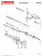 Makita HR2470F Manuals