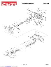 Makita LS1030N Manuals