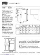 Maytag M1TXEGMYW Manuals