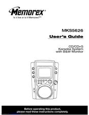 Memorex MKS5626 Manuals