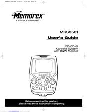 Memorex MKS8501 Manuals