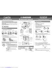 Olympus CAMEDIA C-3040 Zoom Manuals