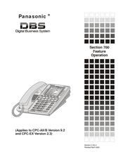 Panasonic VB-44223G Manuals