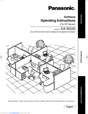 Panasonic Workio DP-3510 Manuals