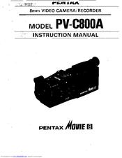 Pentax PV-C800A Manuals