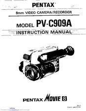 Pentax PV-C909A Manuals