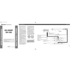 Pioneer Radio Manual Flow Diagram Beautiful Design Deh 1800 Installation Pdf Download