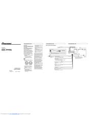 Pioneer dex-p99rs Manuals