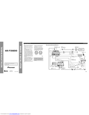 Pioneer AVX-P7300DVD Manuals