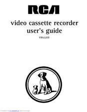 Rca VR622HF Manuals