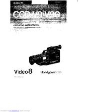 Sony Handycam PRO CCD-V90 Manuals