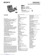 PCG F650 DRIVERS DOWNLOAD