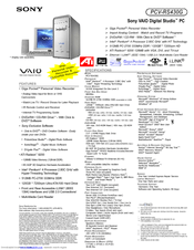 SONY VAIO PCV RS420 DRIVERS FOR WINDOWS