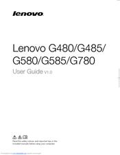 Lenovo G580 Manuals