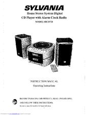 Sylvania SRCD721 Manuals