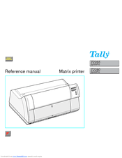 Tally T2280 SprintPro Manuals