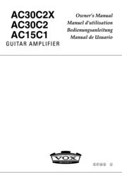 Vox AC30C2 Manuals