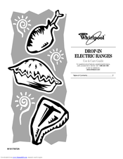 Whirlpool WFE361LV Manuals