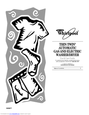 Whirlpool THIN TWIN Manuals