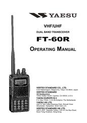 Yaesu FT-60R Manuals