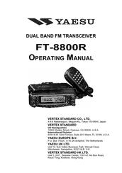 Yaesu FT-8800 Manuals