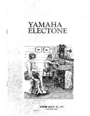Yamaha Electone B-4BR Manuals