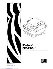Zebra GX420t Manuals