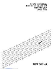 Neff U1422N0GB Manuals
