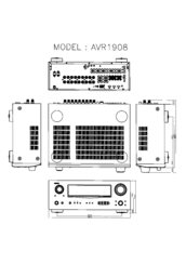 Denon AVR-1908 Manuals