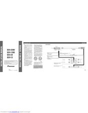 Pioneer DEH-12 Manuals