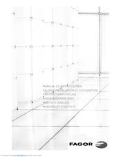 Fagor FIS-810 Manuals
