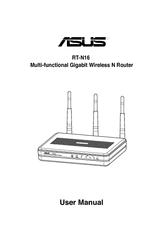 Asus RT-N16 Manuals