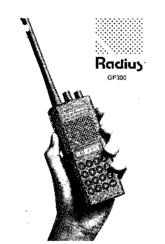 Motorola RADIUS GP300 Manuals