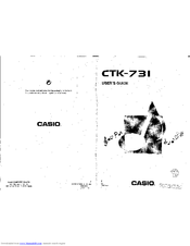 Casio CTK-731 Manuals