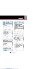 Casio GZONE TYPE-S Manuals